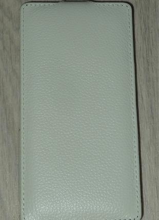 Чехол Avatti для Sony D6603 Z3 белый 0119