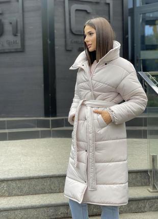 Куртка пуховик пальто демисезонное,  куртка пуховик на запах и...