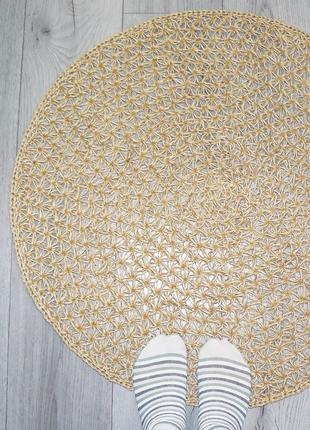 Килимок для ванної кімнати (75cм), еко килимок, килимок з джуту