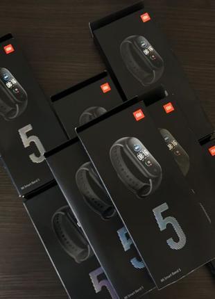 Xiaomi Mi Band 5 / 4 Глобальная Версия фитнес браслет русский ...