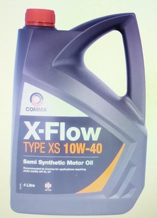 Comma x-flow xs 10w40 semi
