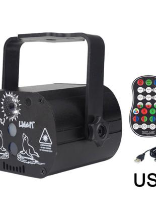 Портативный проектор лазерных лучей