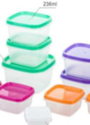 Пищевые контейнеры набор 10 шт.