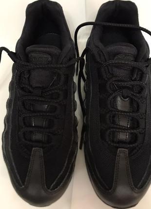 Nike air max 95 gs ultra black
