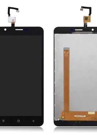 Дисплейный модуль Blackview E7/E7s black +touchscreen