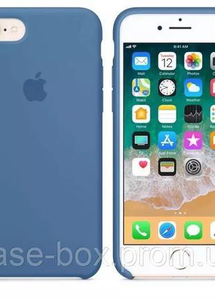 Силиконовый чехол бампер Silicone Case для iPhone 7