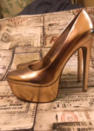 Туфли ( натуральная кожа) ,