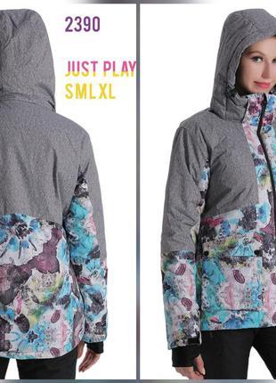 Горнолыжная куртка женская термо just play