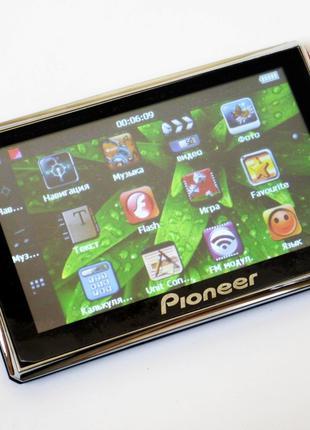 "5"" GPS навигатор Pioneer D516 - 8Gb IGO+Navitel+CityGuide"