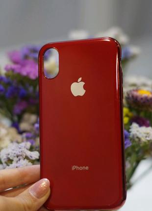 Чехол силиконовый для iphone Xs/X