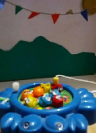 Виуди рыбку, кубик для малишей