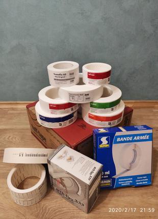 Ленти для гіпсокартону  (американка,semin,knauf kurt, tuff tape )