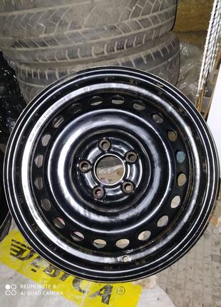 Диски стальные оригинал Nissan Leaf Qashqai Renault R16(5*114,3)