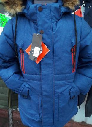 Зимняя куртка 104  рост