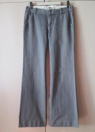 Стильные брюки клеш, модные джинсы gap с косыми карманами, шта...