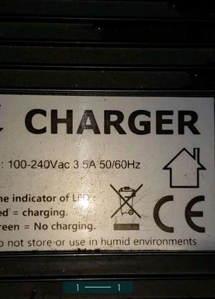 Зарядне для електровелосипеда 48в