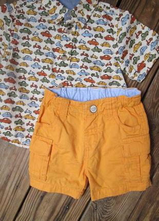 Стильные фирменные шорты шортики от idexe на 9-12 месяцев / на...