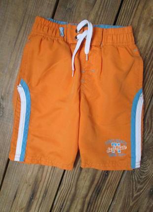 Яркие плавательные шорты, шорты с плавками от rebel на 2-3 год...