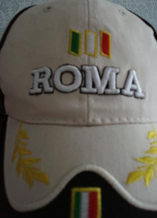 """продам кепку  итальянского  футбольного клуба""""РОМА"""""""