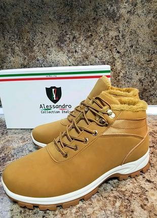 Італійські черевики Alessandro Collection. Ботинки