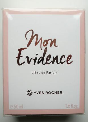 Туалетная вода Mon Evidence 50ml от Ив Роше