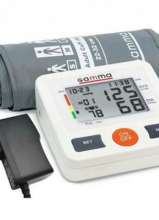 Автоматический тонометр Gamma Optima + адаптер, тонометр гамма