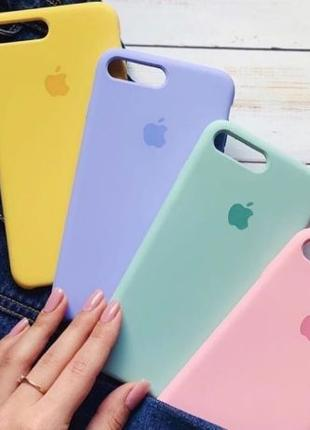 Чехол Silicone Case iPhone 5,5s,5se/6,6s,6+/7,7+/ 8 X/XS/MAX О...