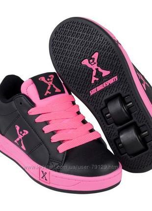 Роликовые кроссовки sidewalk sport скейтера heelys 21 см