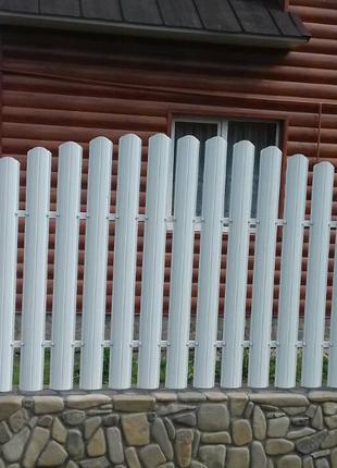 Забор жалюзі, штахети, паркан, штахетник, євроштахетник