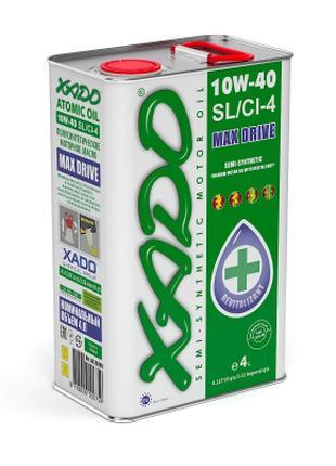 Моторное масло XADO Atomic Oil 10W-40 SL/CI-4 4l
