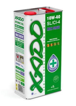 Моторное масло XADO Atomic Oil 10W-40 SL/CI-4 5l
