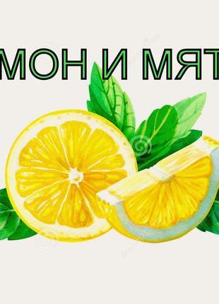 Желе лимон и мята -натуральный продукт к чаю