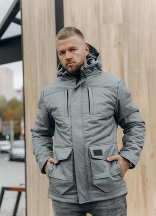 Мужская зимняя куртка парка primary