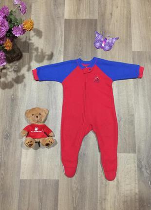 Флисовая пижама ,кигуруми , домашний костюм,на 1 годик