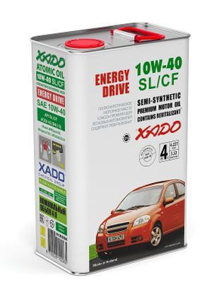 Моторное масло XADO Atomic Oil 10W-40 SL/CF 4l