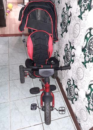 Детский велосипед-коляска Turbo trike