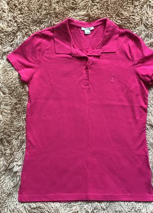 Розовая рубашка-поло Ostin