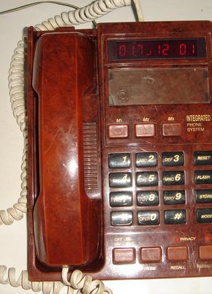 Телефон стационарный МЭЛТ Оригинал, с АОН, СССР. Рабочий.