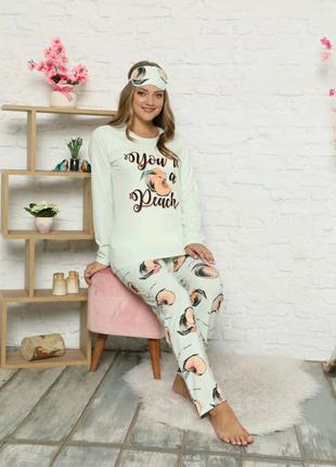 Пижама утепленная на байкн