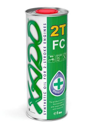 Моторное масло Xado Atomic Oil 2T FC 1л