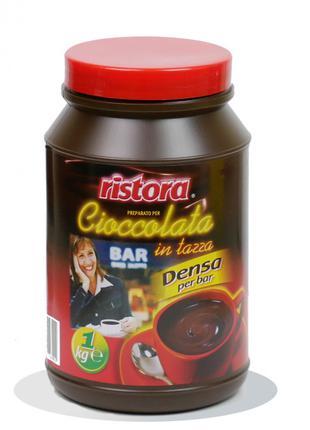 Горячий шоколад Ristora в банке 1кг