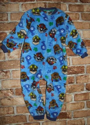 Комбинезон пижама щенячий патруль 3-4 года