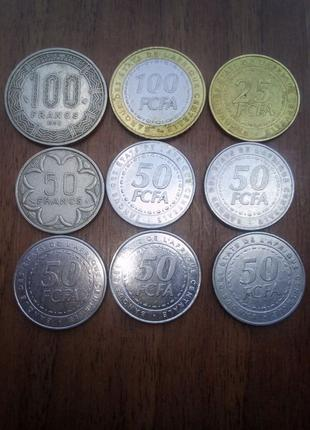 Монети Африки-ДУЖЕ ДЕШЕВО