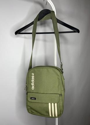 Мессенджер adidas сумка оригинал хаки