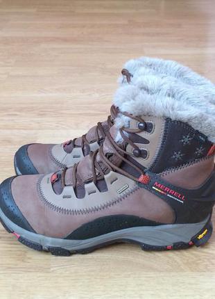 Зимние ботинки merrell 39 размера в идеальном состоянии