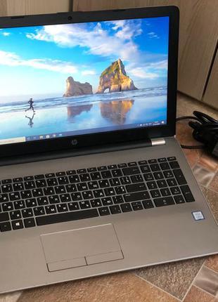 Ноутбук HP 250 G6/Intel i5 7200U/HD 620/8GbDDR4/256 SSD/4ч акб
