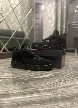 Nike air jordan 4 retro black