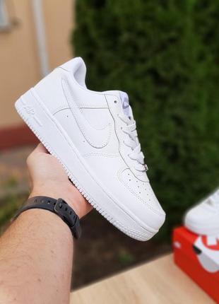 Мужские кроссовки 🔸nike air force🔸 белые низкие