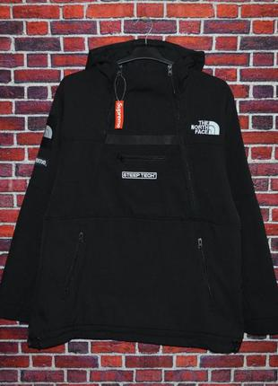 Анорак Supreme x The North Face куртка ветровка пуховик