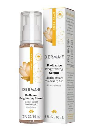 Осветляющая сыворотка Even Tone с витамином С Derma E США